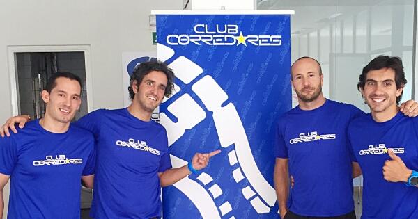 Carlos Aznar, atleta y nutricionista.