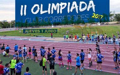 II OLIMPIADA. Club Corredores.